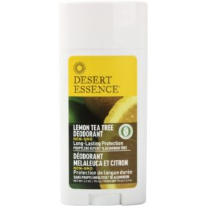 Desert Essence Deostick Lemon Tea Tree