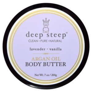 Deep Steep Argan Oil Body Butter Lavender Vanilla