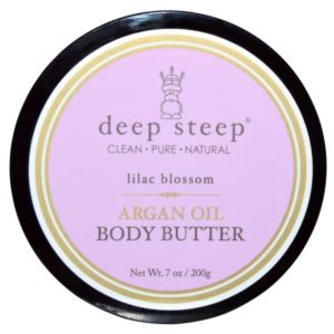 Deep Steep Argan Oil Body Butter Lilac Blossom