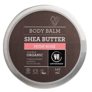 urtekram-body-balm-shea-butter-rose-140-ml