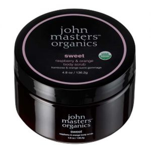 John Masters sweet, raspberry & orange body scrub